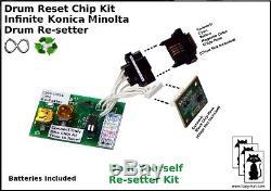 KONICA MINOLTA Infinite Reset C450 8022 IU310C IU310Y IU310M IU310K