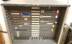 King McKay 12 drawer apt studio letterpress 2/3 Type Cabinet hamilton v32