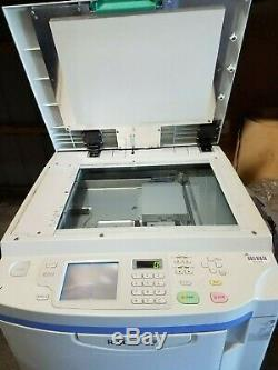 LOT-2 Riso Risograph RP3700 Digital Duplicators LOW PAGES BOTH MASTER AND COPY