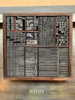 Letterpress Antique Foundry Ornaments & Borders Vandercook Press