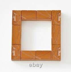 Letterpress Femme Art Nouveau Border, Wood type 6 line (25.4 mm) 33 pieces