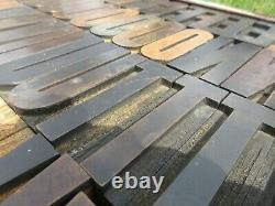 Letterpress Hamilton Wood Type 20 Line (3 1/4) P77