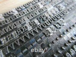 Letterpress Lead Type 12 Pt. Typewriter P212