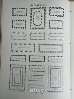 Letterpress Lead Type 14 Pt. Old English Border No. 13 ATF L28