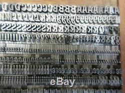 Letterpress Lead Type 18 Pt. Brody ATF # 704 a12