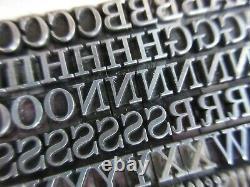 Letterpress Lead Type 18 Pt. Century Schoolbook ATF # 454 L18