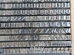 Letterpress Lead Type 18 Pt. Gallia ATF # 502 B43