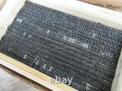 Letterpress Lead Type 18 Pt. Goudy Light Old Style aka Goudy Gimbel G3