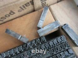 Letterpress Lead Type 18 Pt. Invitation Text (B, B, & S ATF # 1693) H81