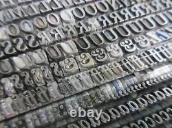 Letterpress Lead Type 18 Pt. New Caslon Italic Inland Type Foundry H49