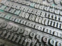 Letterpress Lead Type 24 Pt. Buffalo (H. C. Hansen Type Foundry) B39