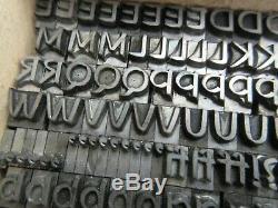 Letterpress Lead Type 24 Pt. Studio TA Type Foundry Amsterdam B11