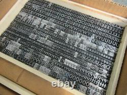 Letterpress Lead Type 30 Pt. Bernhard Gothic Heavy ATF # 530