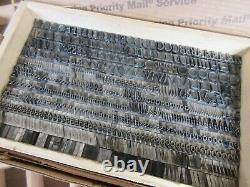 Letterpress Lead Type 30 Pt. Rivoli Italic ATF # 526 P46