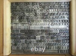 Letterpress Lead Type 36 Pt. Craw Clarendon ATF # 710 A90