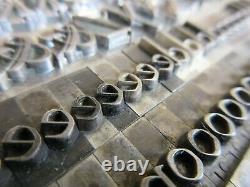 Letterpress Lead Type 36 Pt. Rivoli ATF # 515 P47