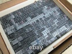 Letterpress Lead Type 36 Pt. Twentieth Century Medium L60