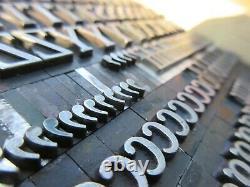 Letterpress Lead Type 42 Pt. Cheltenham Bold Condensed ATF # 68 A20