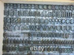 Letterpress Lead Type 48 Pt. Cloister Lightface ATF # 486 D56