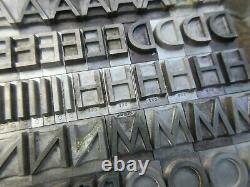 Letterpress Lead Type 48 Pt. Spartan Medium ATF # 680 A75
