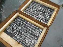 Letterpress Lead Type 48 Pt. Twentieth Century Extrabold Condensed A1