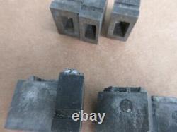 Letterpress Lead Type 60 Pt. SPEAKERS Cuts Rare Complete Font M47
