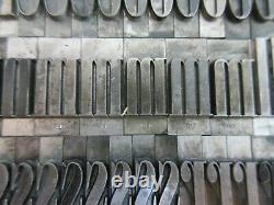 Letterpress Lead Type 72 Pt. ONYX ATF # 661 D75