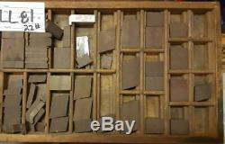 Letterpress Ludlow Spacing Matrix Variety + Case LLB81 22#