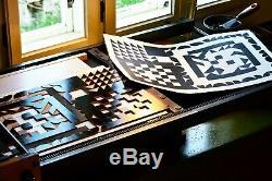 Letterpress Modular Geometric Shapes Wood type, 6 line (25,4 mm) 36 pieces