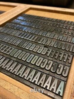 Letterpress Type 48pt Staple Gothic from the Keystone Type Foundry
