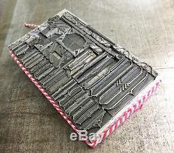 Letterpress Type Vintage Brackets and Folderol