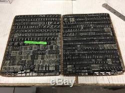 Lucian Bold 48 pt Metal Type Printers Type Letterpress Type