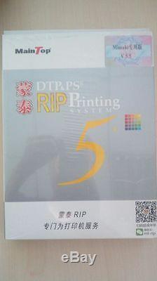 MainTop Rip Software V5. X for MIMAKI JV3 JV33 TS34 SWJ-320s (hardcover)