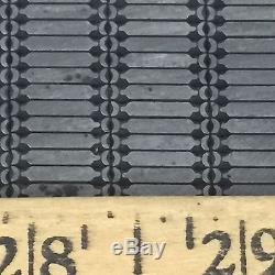 Massive set of Border Pcs Letterpress All Metal Hot Stamp Dies