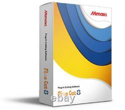 Mimaki FineCut 8 plug-in software CD for Corel Draw or Adobe Illustrator cutter