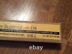 NEW Vintage Metal Letterpress Print Type ATF 10pt Lower Case Goudy Oldstyle 178