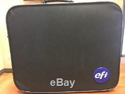 NEW X-RITE EFI i1 PRO REV E ES-2000 SPECTROPHOTOMETER With ACCESSORIES AND CASE