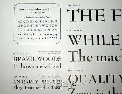NOS Complete Font ATF 18pt BERNHARD ROMAN BOLD No. 670 Letterpress Metal Type a