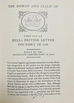 New Letterpress Type 12 point Bell