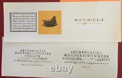 New Letterpress Type 18pt. Nicolas Cochin