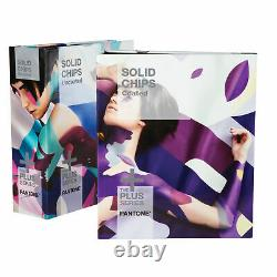 New Pantone Solid Chips Two Color Book Set Gp1606N