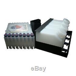 OEM Roland Continous Bulk Ink System -4 Bottles, 8 Cartridges