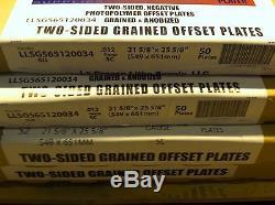 Offset Printing Plates- $175 PER BOX