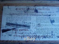 Old Alphabet Letter Set Wooden Printing Blocks Stamp Type Upper Lower A-Z Case