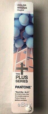 PANTONE Rosa & Blue 01 Color Bridge Guide Coated GG6103N