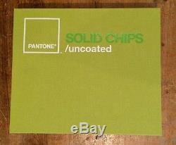 PANTONE Solid Chips/ uncoated Binder