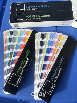 Pantone 2008 Color Formula Guide Book Chart Coated & Uncoated