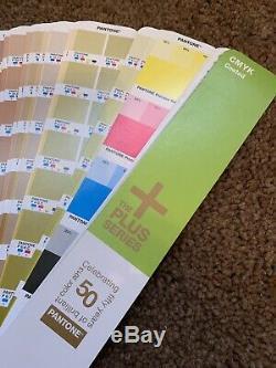 Pantone CMYK Plus Series Coated Color Guide