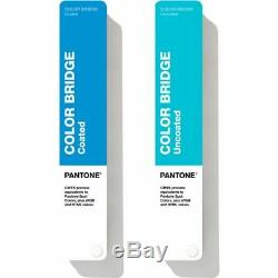Pantone Color Bridge Guides Coated & Uncoated GP6102A Color Reference Guide