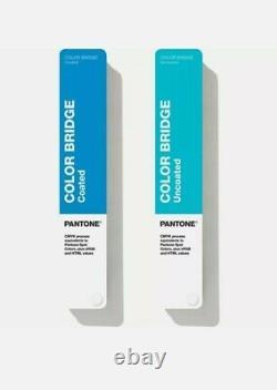 Pantone Color Bridge Set Coated & Uncoated Guide GP6102N Sealed Books
